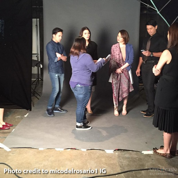 BEHIND-THE-SCENES: You're My Home Promo Shoot