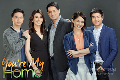 """ABS-CBN shows importance of family in newest powerhouse primetime drama """"You're My Home"""""""
